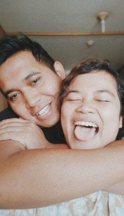 Morning selfie - 7 bulan menikah